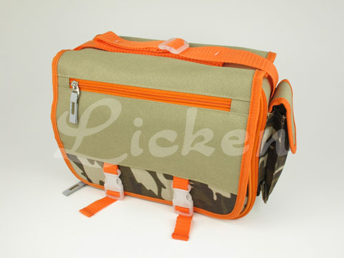 Camouflage Messenger Lunch Bag