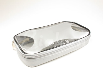 Clear-view' Top Zipper Pencil Box
